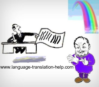 foreign language translator, translator, translation service